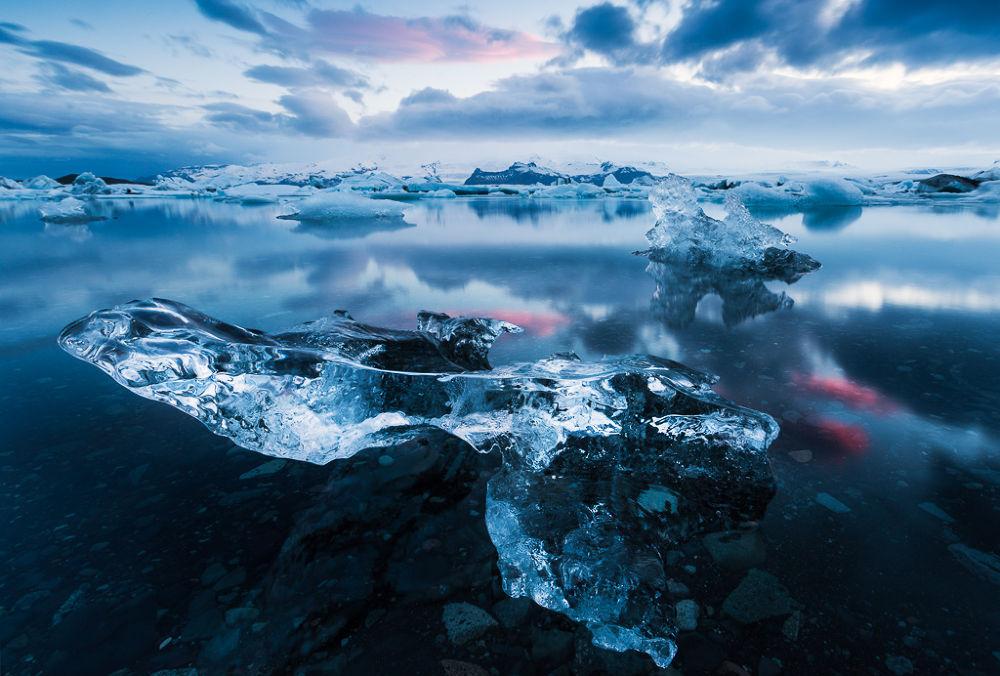 Glacial Lagoon by jenniferkingphoto