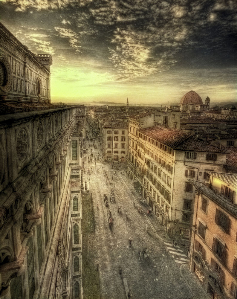 Florence From Above by clinthudson