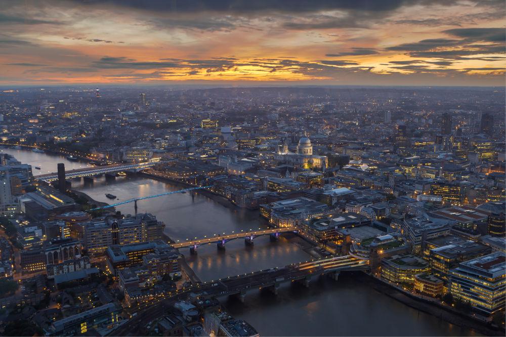 London Lights by Jaanus Jagomägi