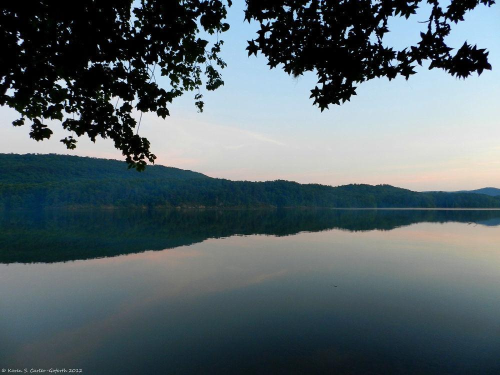 Lake at Dusk by Karen Carter-Goforth