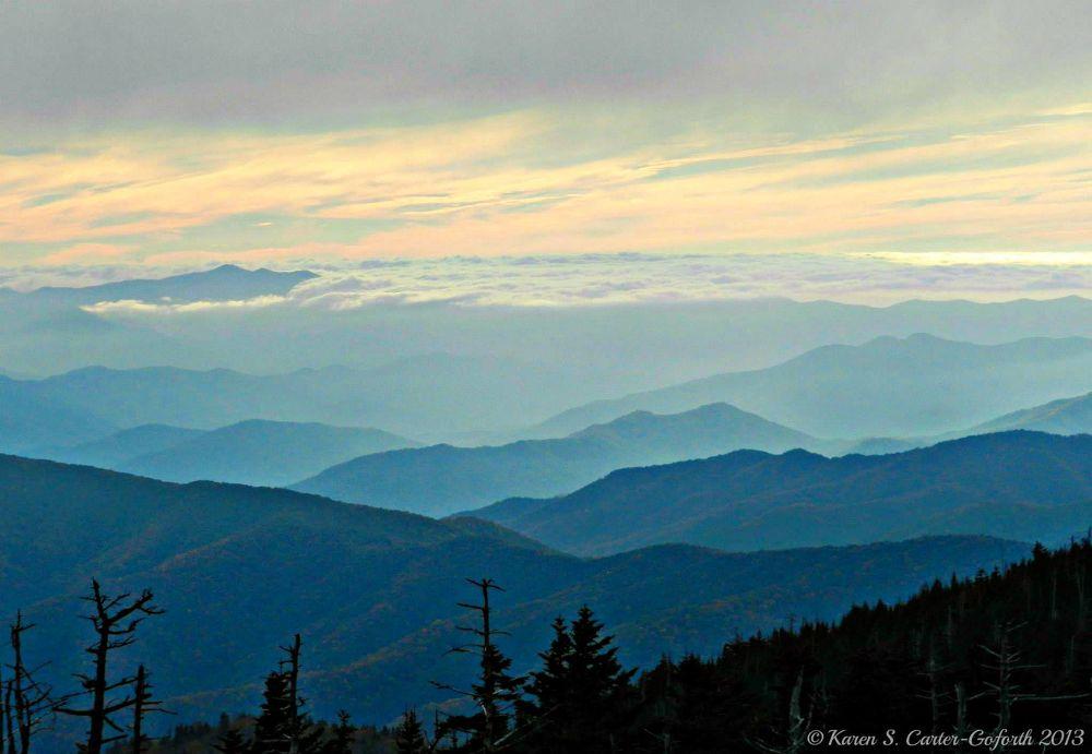 Mountain View by Karen Carter-Goforth