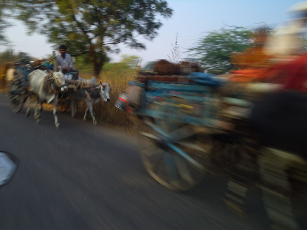 At The Speed Of 70 Km/ph by PRasad Ahirrao