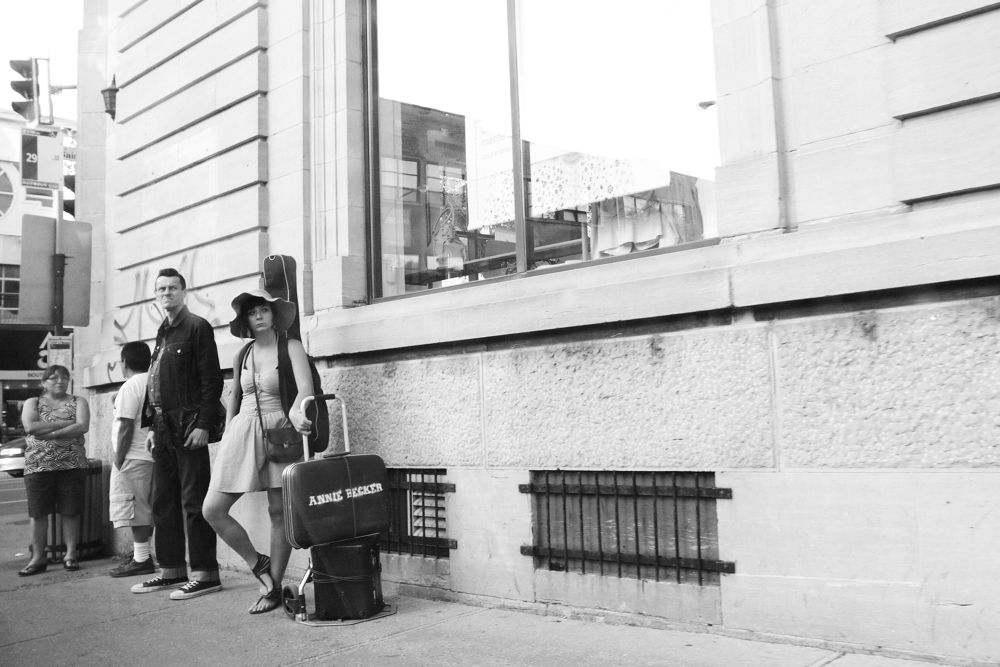 Street corner blues, Montreal by nonoyespina