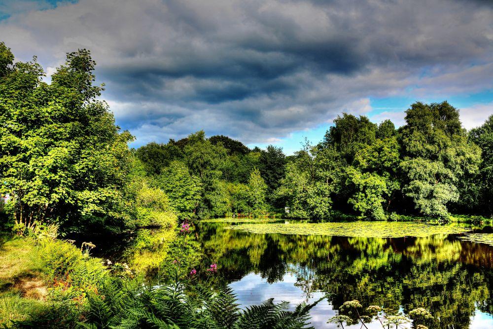 local fishing spot adlington (HDR) by johnderbyshire31