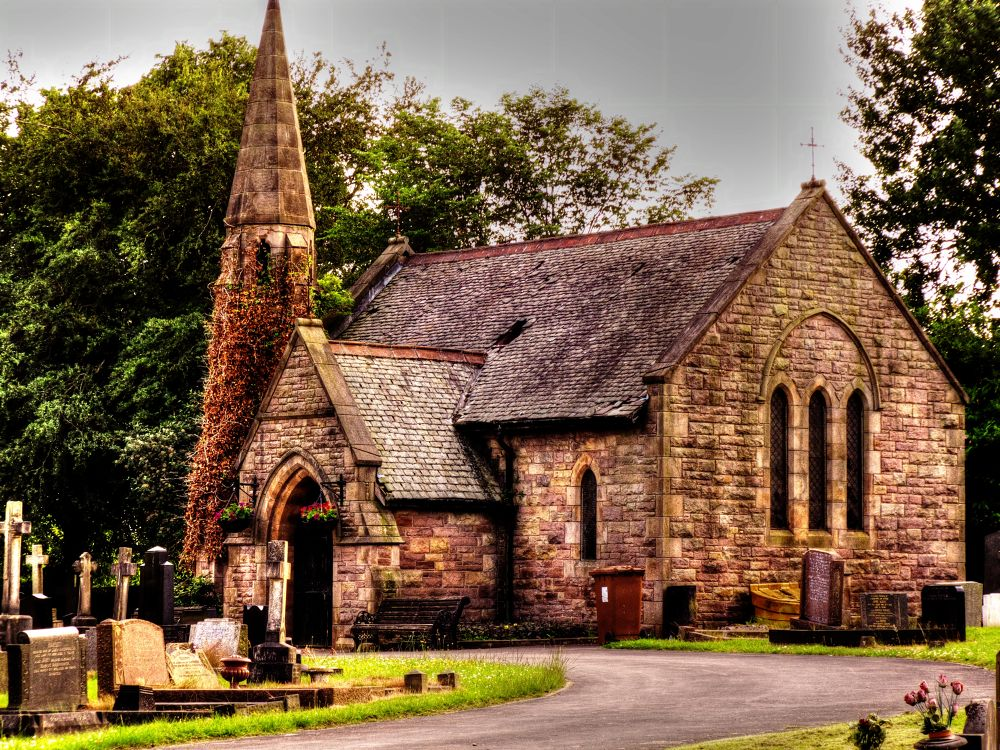 a derelict church in adlington england (HDR) by johnderbyshire31