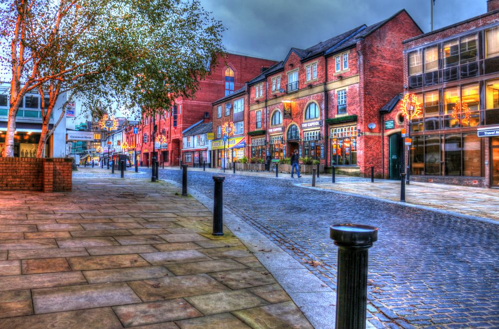 bolton town centre, by johnderbyshire31