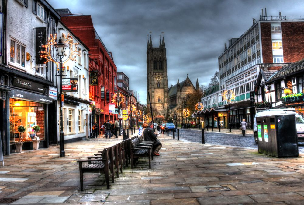 town centre bolton by johnderbyshire31
