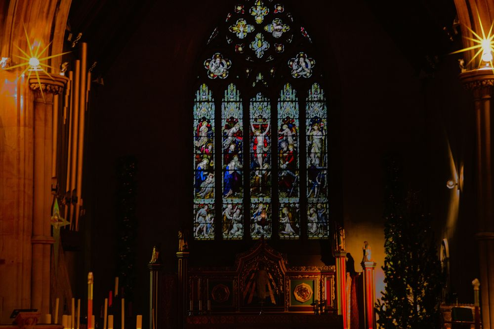 church window st pauls adlington england, by johnderbyshire31