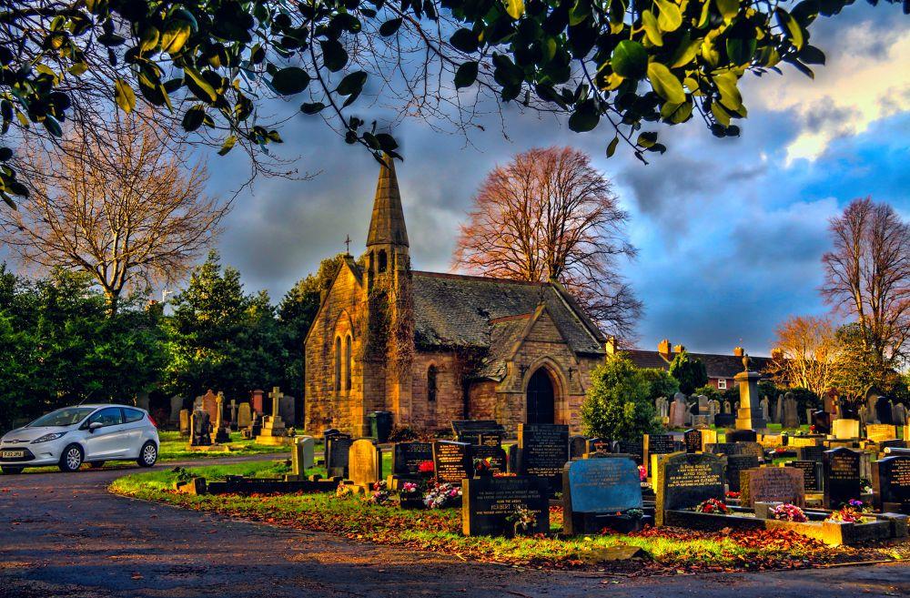 adlington cemetery lancashire england, by johnderbyshire31
