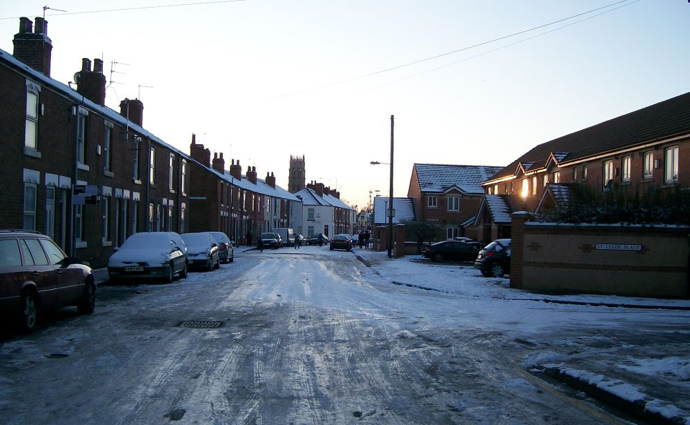 Winter. Doncaster Town by AWalker