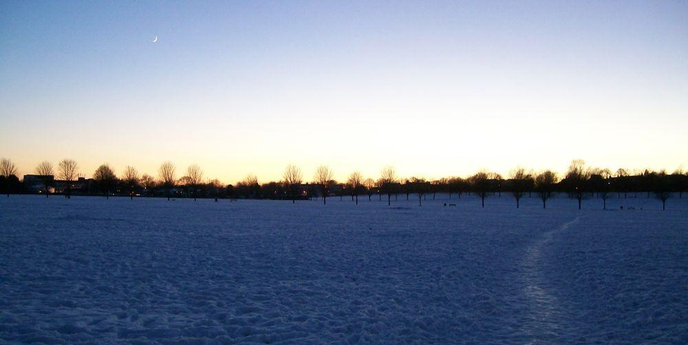 Winter Sky by AWalker