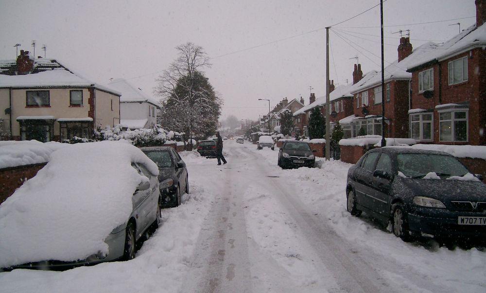 Snow storm  by AWalker