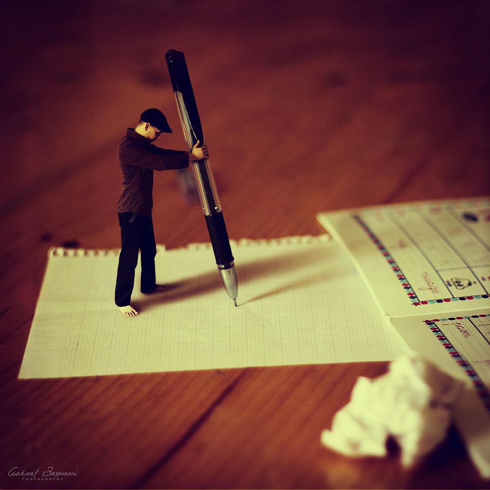 Writing about my lifestyle by Achraf Baznani