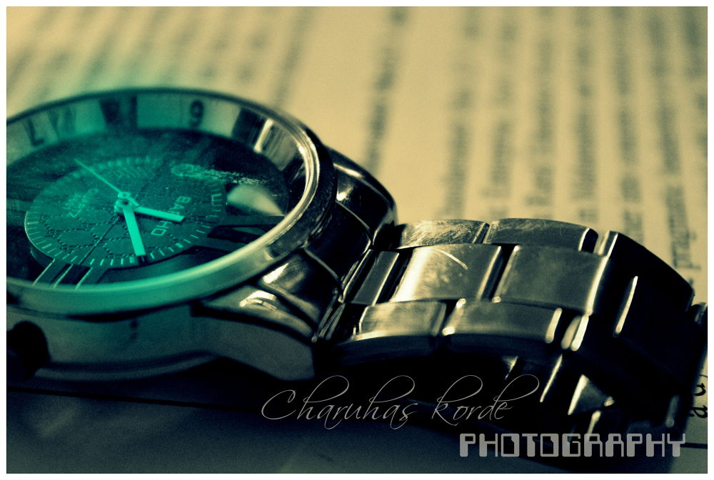 time... by Charuhas Korde