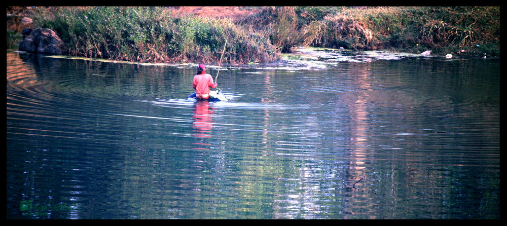 River.jpg by Kanchan Kumar