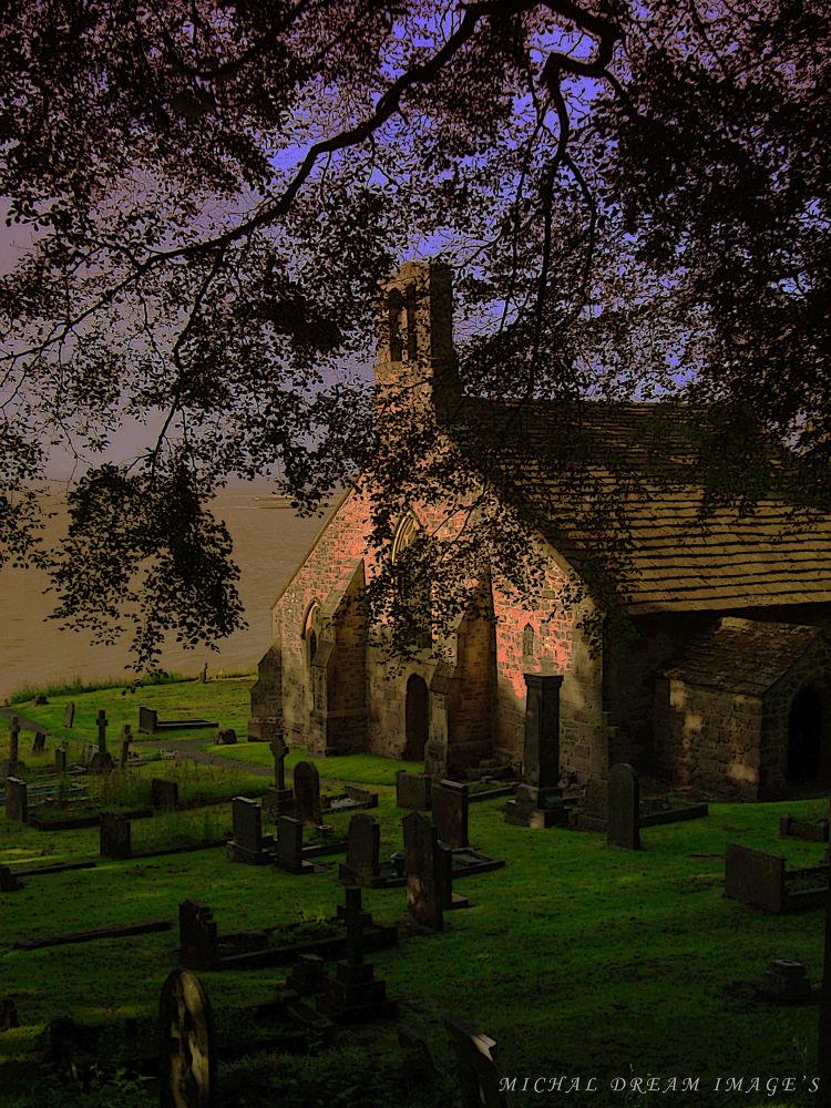church yard view by michal clarke