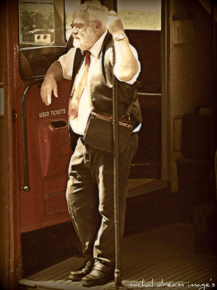 bus conductor by michal clarke