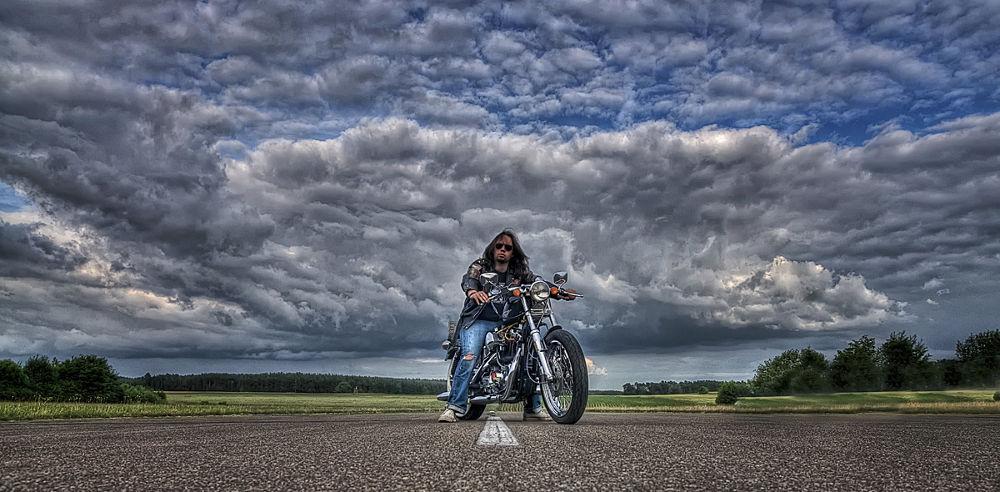 Biker by Leo Walter