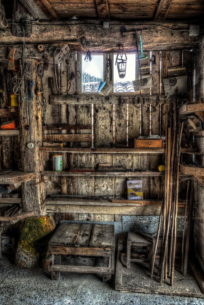Old storage room by laurentzimartinez