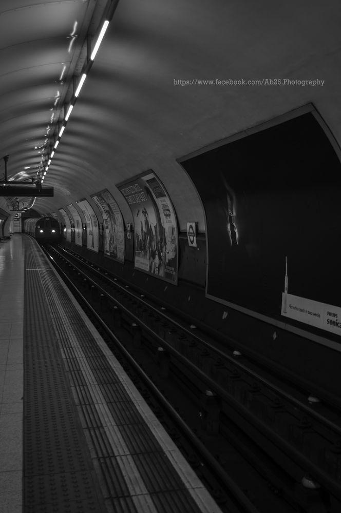 London Subway....! by Abhishek Kumar