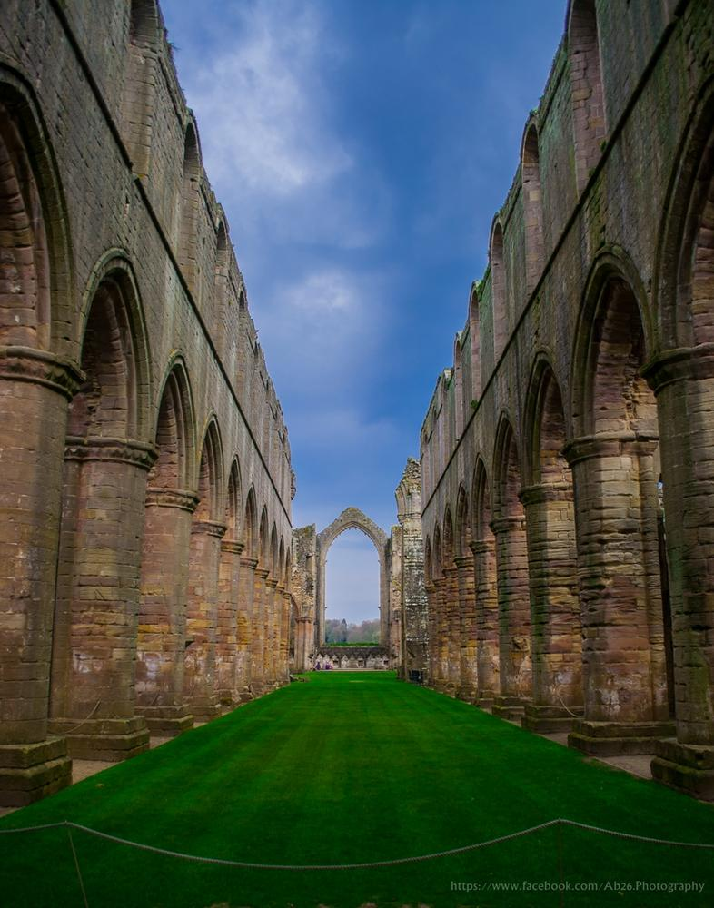 Fountain Abbey! by Abhishek Kumar
