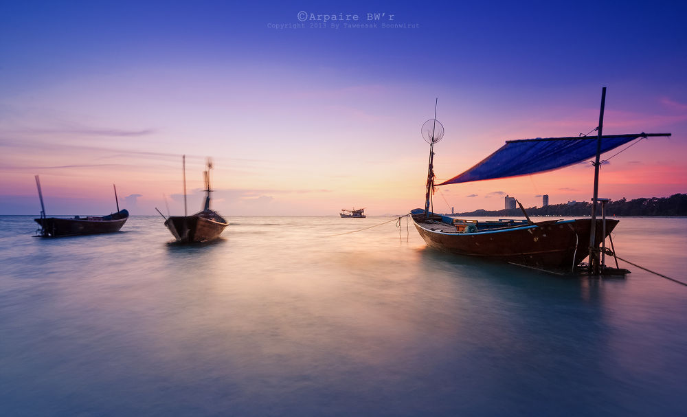 Fishing Boats by Archipoch