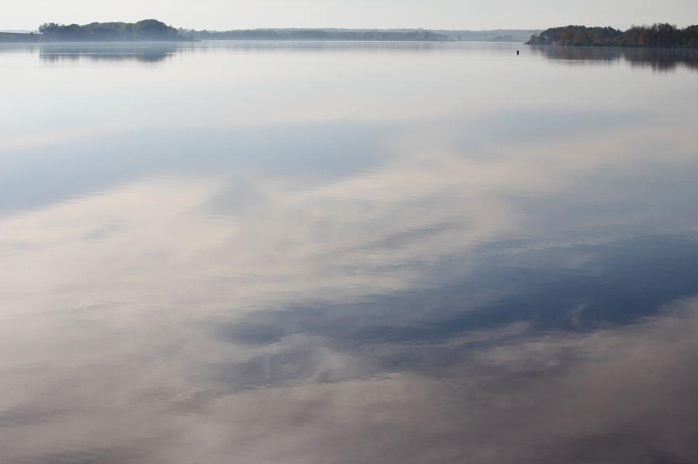 blue on the lake         © Jana Lily Kleisnerova 2013 by janakleisnerova19