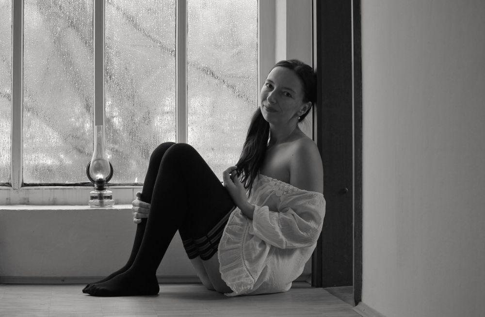 just me..............© Jana Lily Kleisnerova 2013 selfportrait by janakleisnerova19
