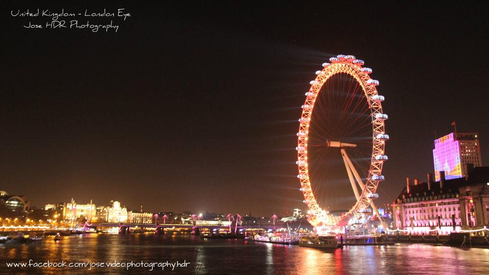 London Eye by skafetzakis