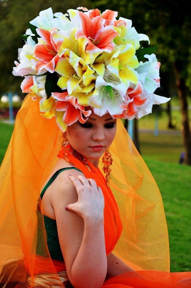 Flower girl 2 by Derryl Olmedo