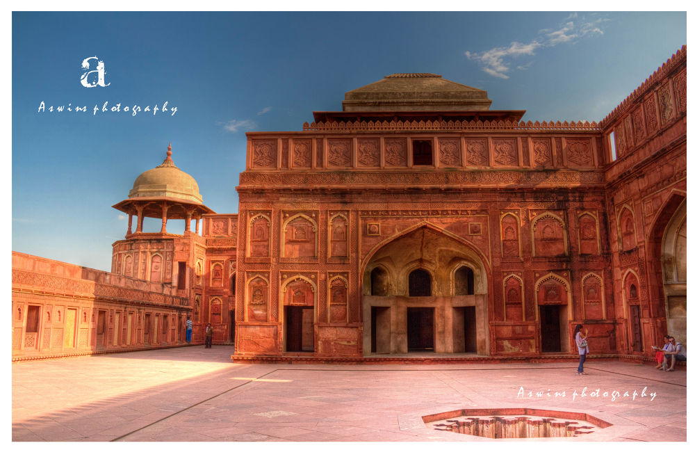 the Agra fort  by aswinsphotography