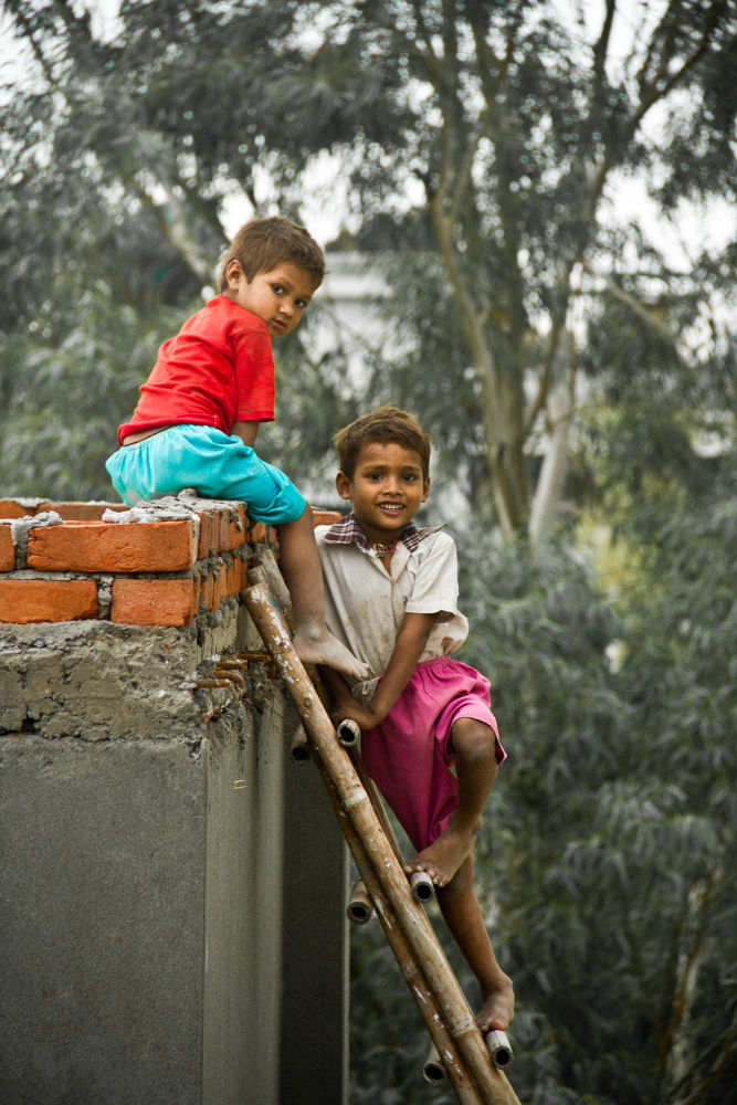 from poverty to the heights of happiness by aswinsphotography