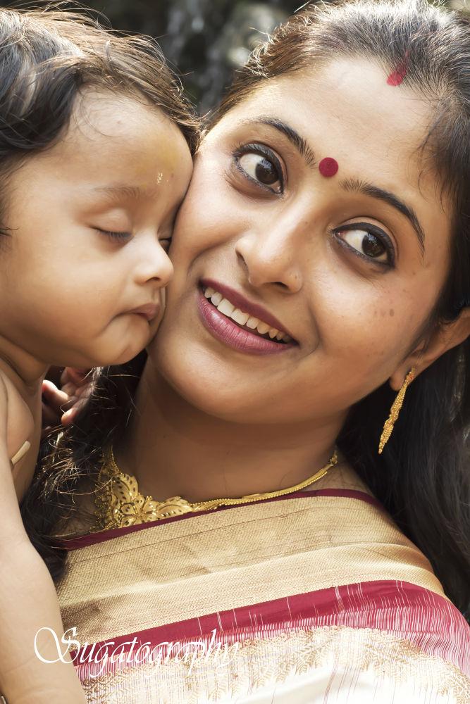 Mother and Child.jpg by sugatodasgupta