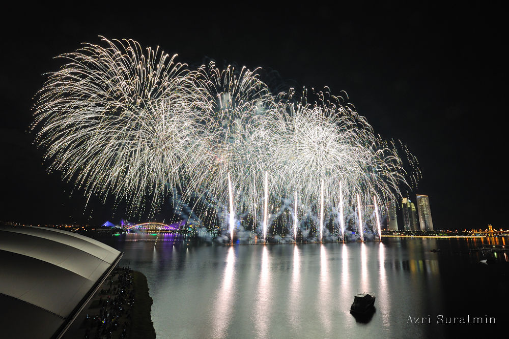 Putrajaya International Fireworks Competition - Team USA by azrisuratmin
