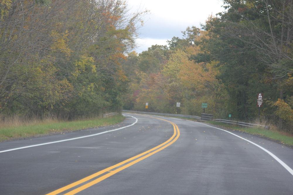 Enjoying a drive in October 2012. Upstate New York by raghavankk