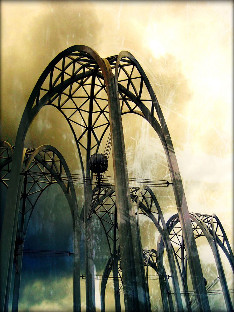 Skeletons of the Worlds Fair  by nkaravay