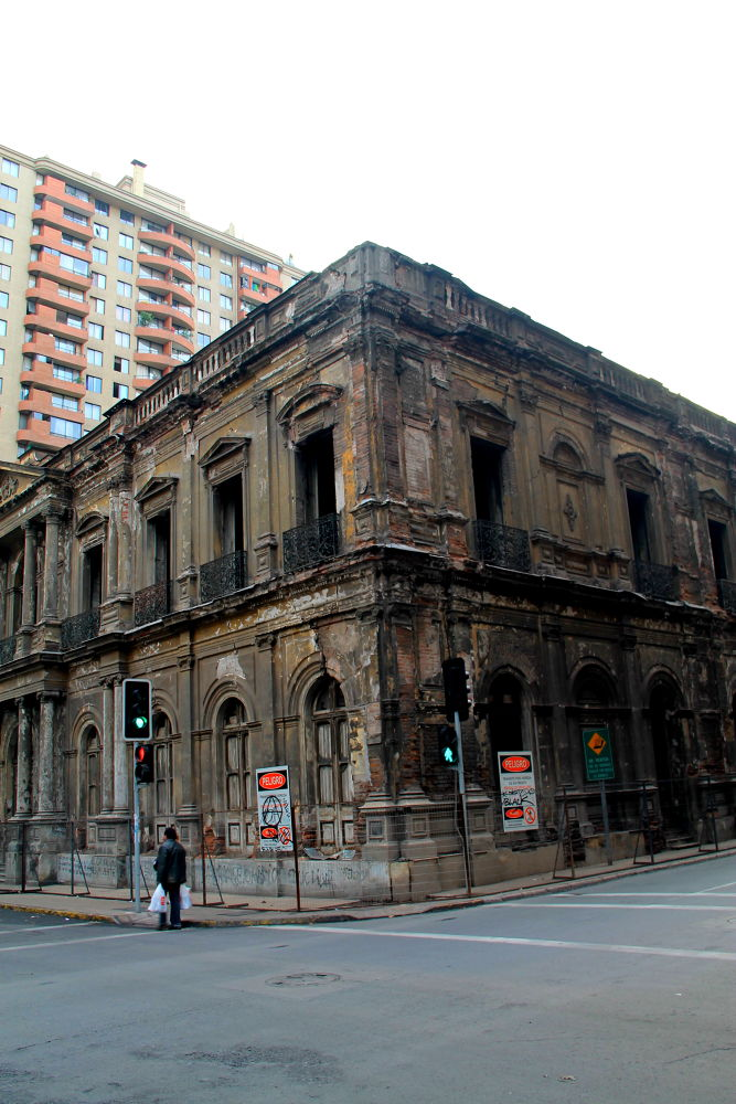 Photo in Architecture #santiago #chile #old building #cityscape