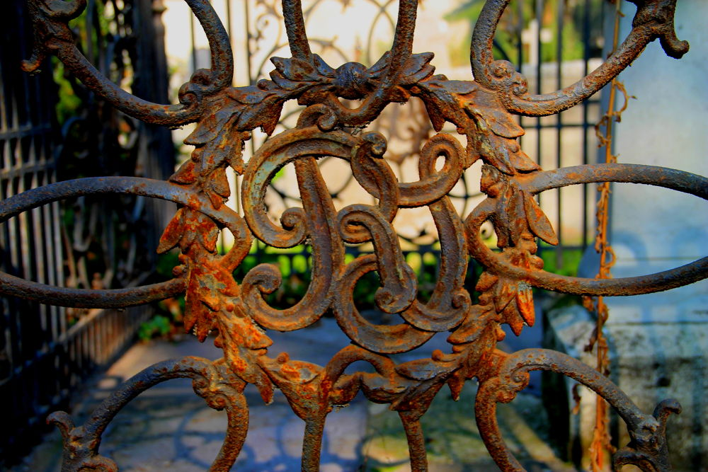 Photo in Random #santiago #chile #rust art #general cementery