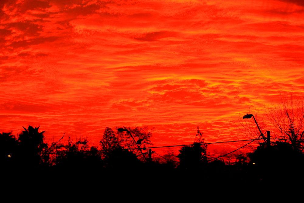 fire in the sky by ichernin