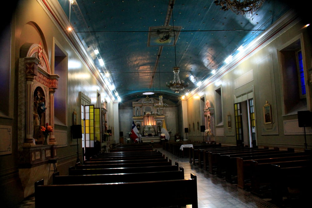 Photo in Interior #ovalle #coquimbo chile #interior #cathedral