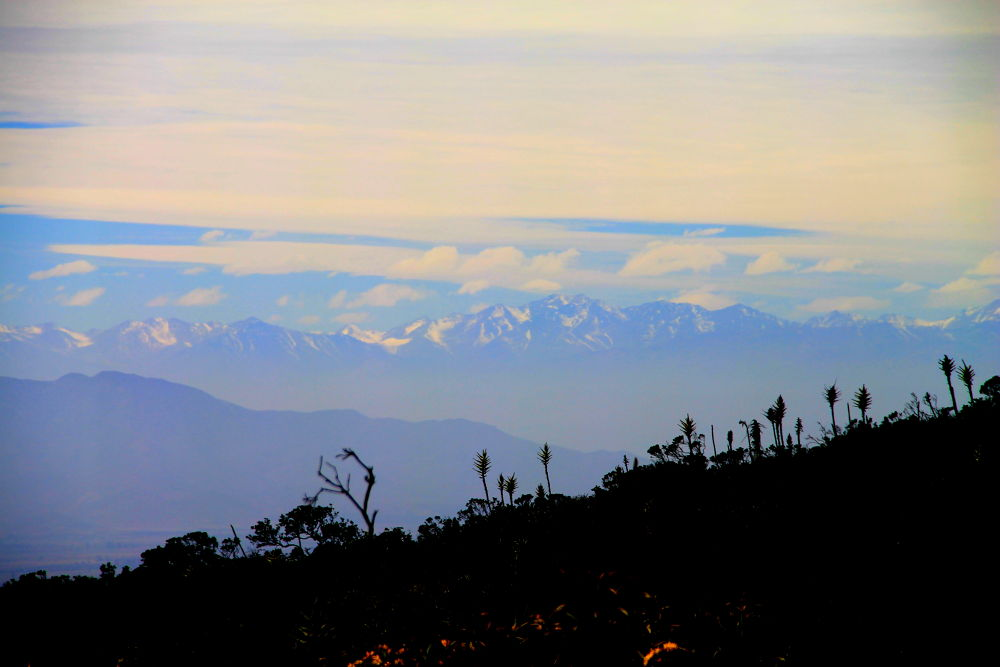 the andean mountains by ichernin