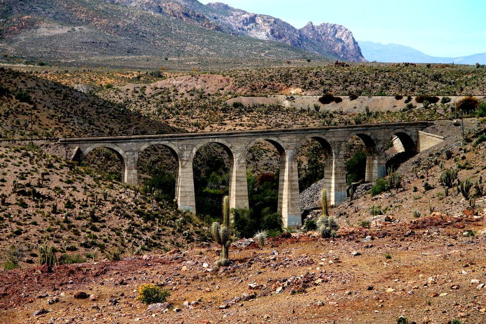 abandoned train bridge by ichernin