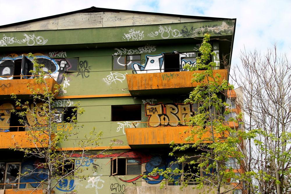 Photo in Cityscape #santiago #chile #cityscape #decay