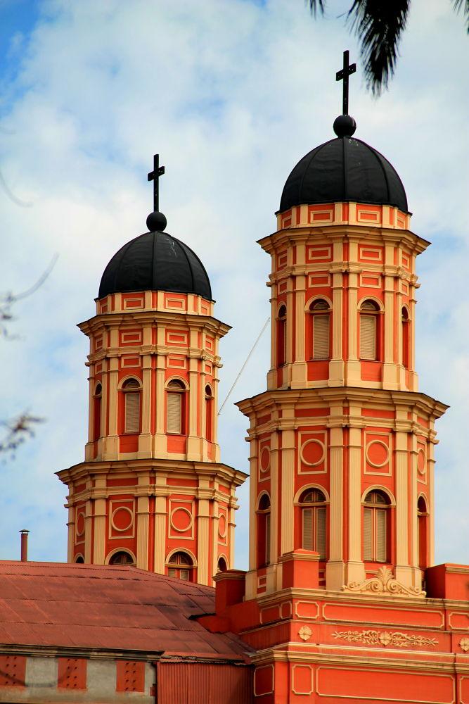 Photo in Architecture #santiago #chile #architecture #cityscape #urban #belfry