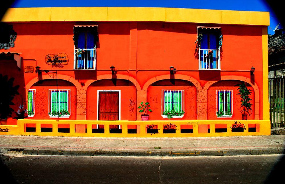 the orange house by ichernin