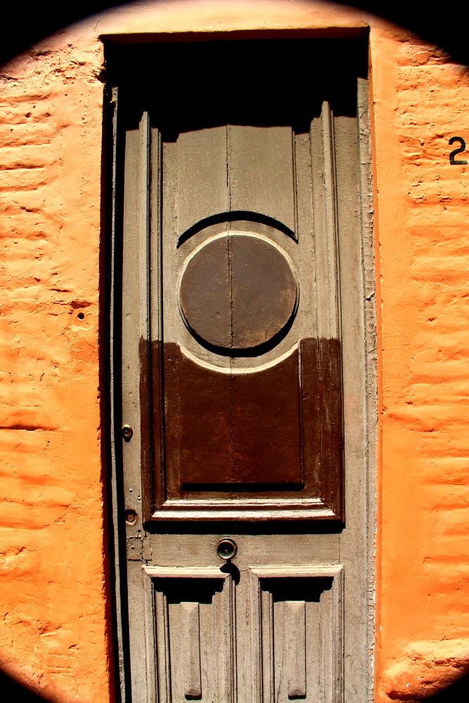 the brown door by ichernin