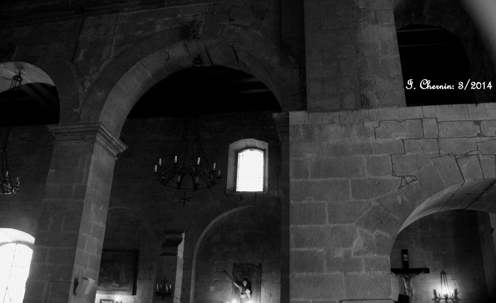santo domingo church interior by ichernin