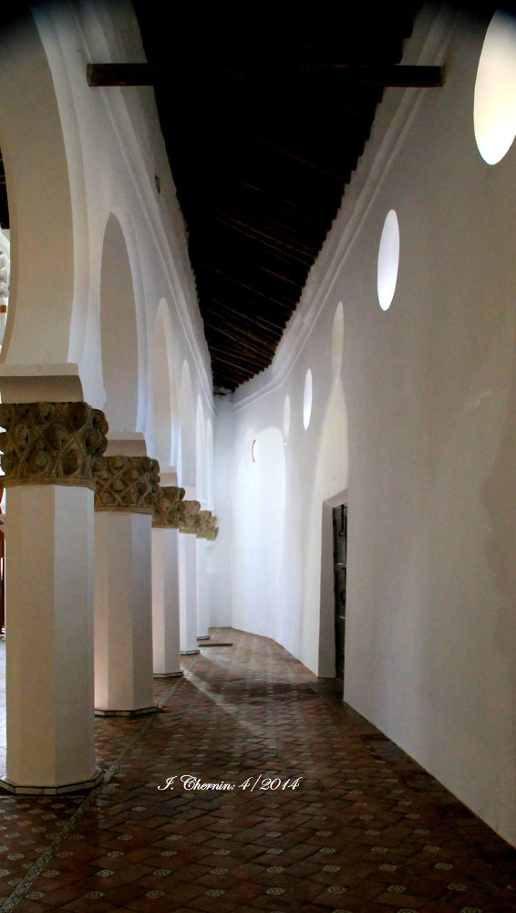 interior of sta maria de blanca by ichernin