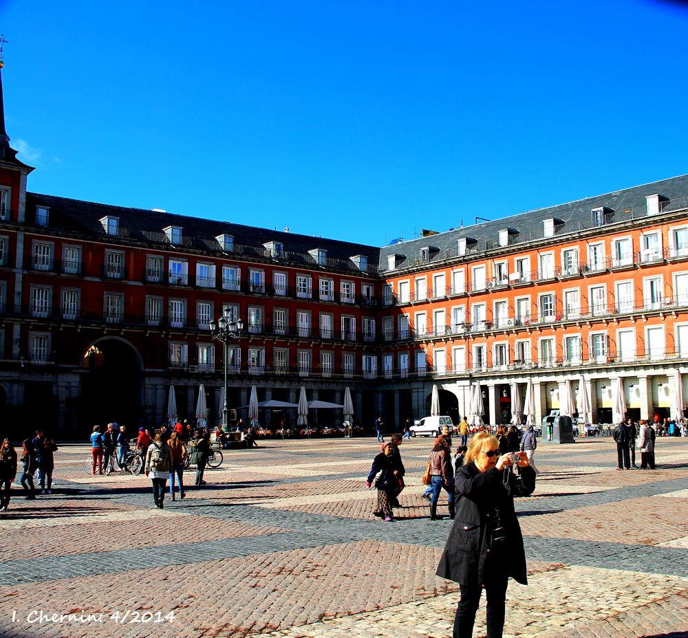 plaza mayor by ichernin