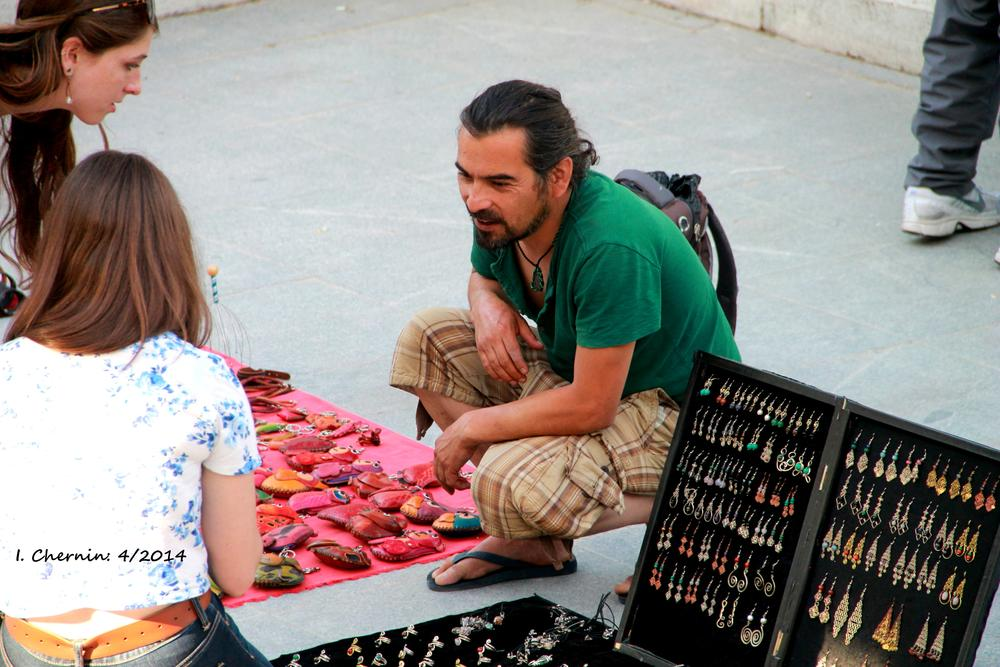 Photo in People #madrid #spain #people #artisan #handicraft #street photography